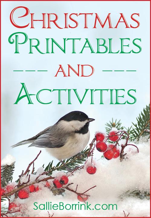Christmas Printables and Activities
