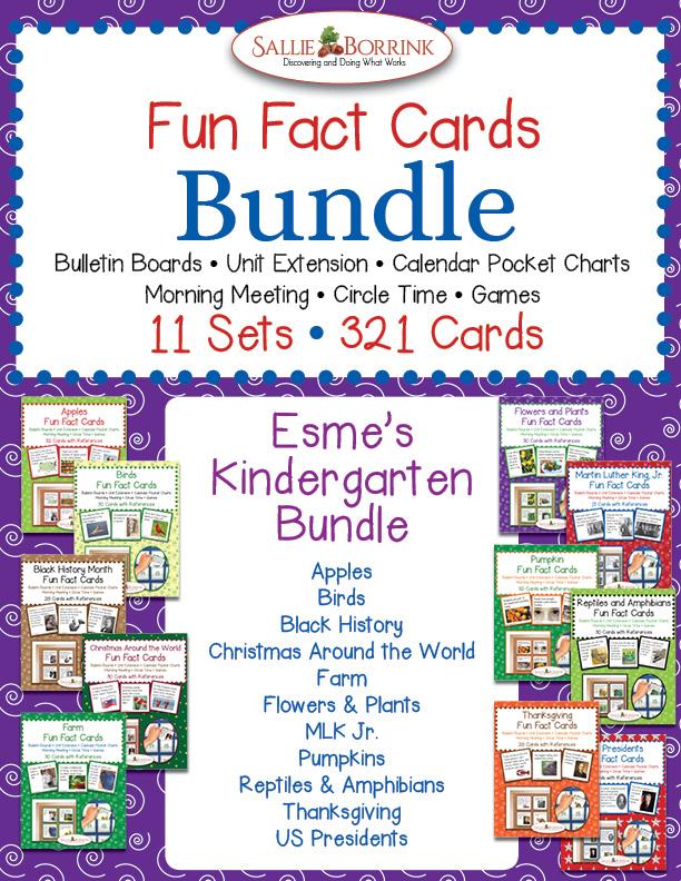 Esme's Kindergarten Bundle