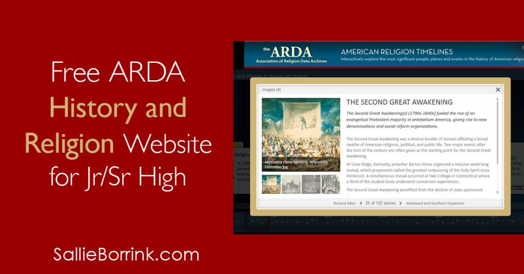 Free History and Religion Website for Jr.Sr High 2