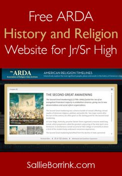 Free ARDA History and Religion Website for Jr/Sr High