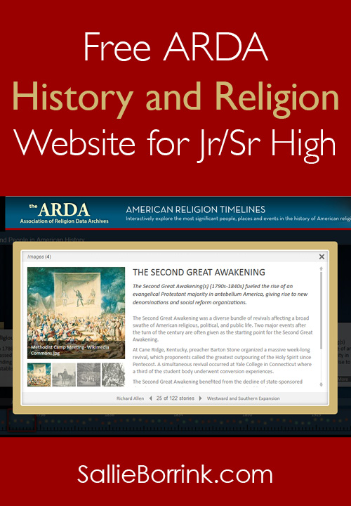 Free History and Religion Website for Jr.Sr High