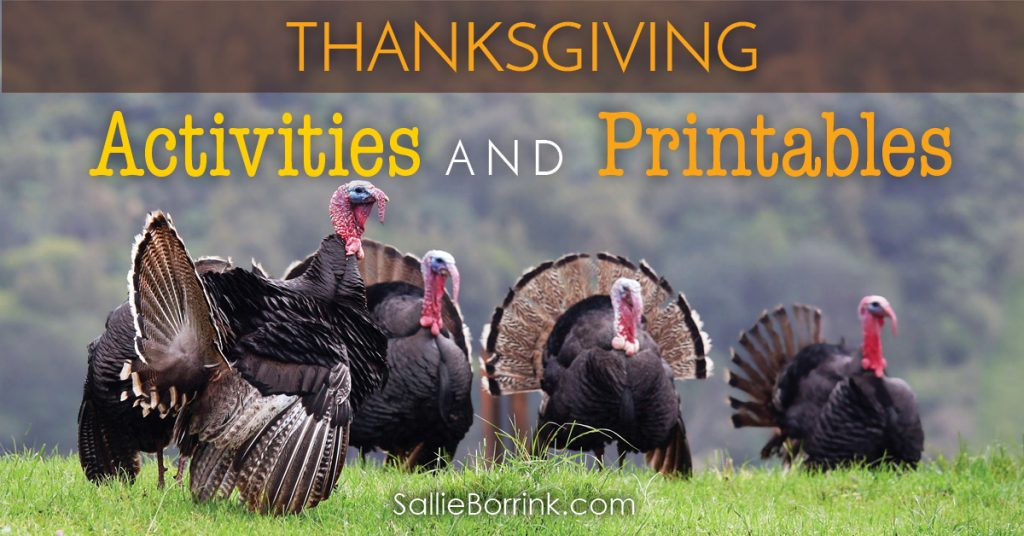 Thanksgiving Activities and Printables 2