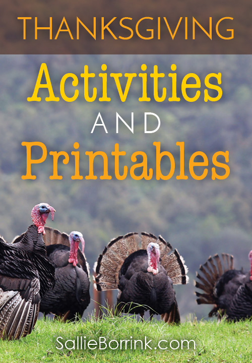Thanksgiving Activities and Printables