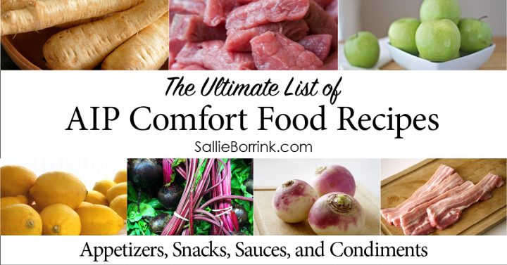 AIP Appetizers, Snacks, Sauces and Condiments 2