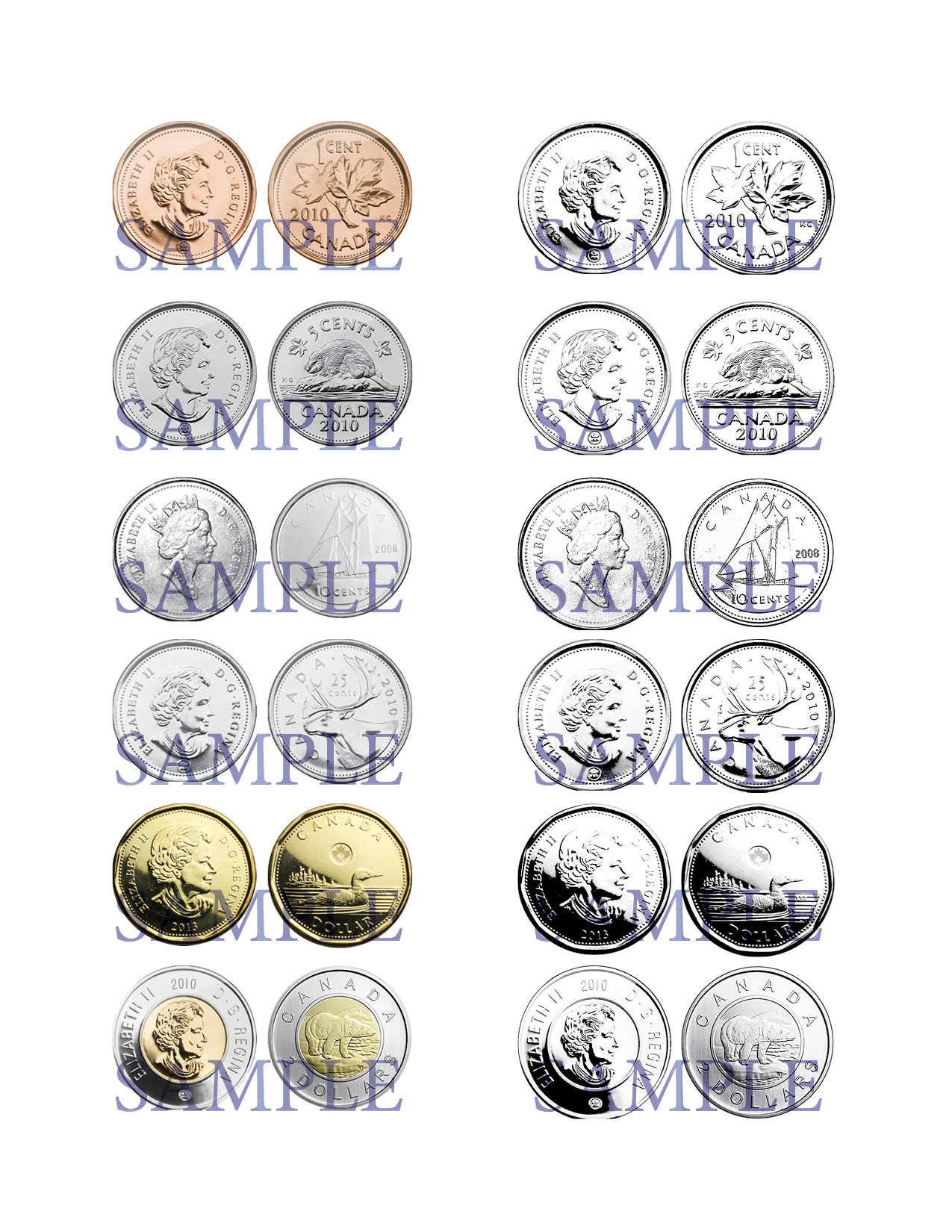 Canadian Coins Clip Art - Money Clip Art - SallieBorrink.com