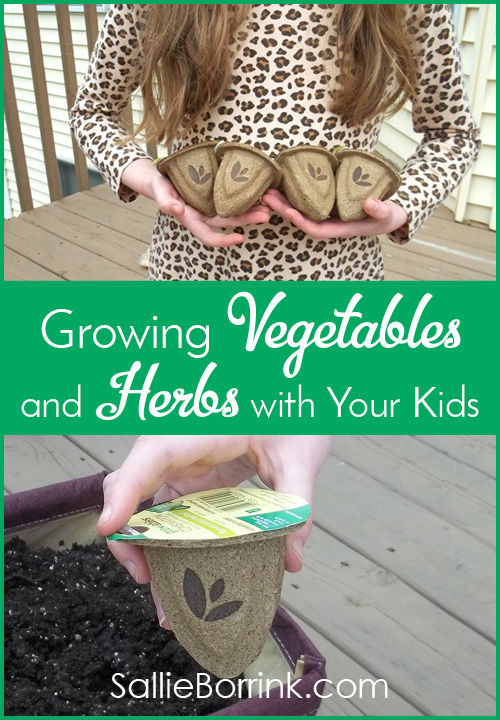 Growing Vegetables and Herbs with Your Kids