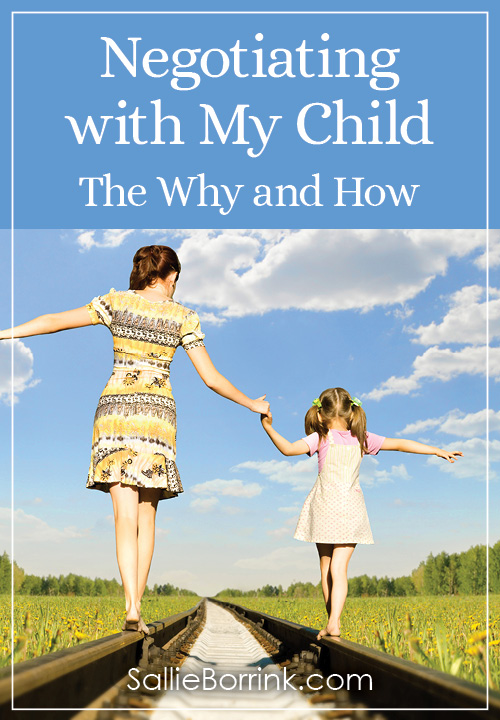 Negotiating with My Child - The Why and How