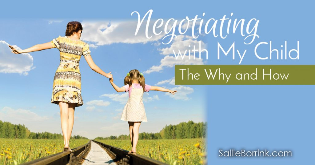 Negotiating with My Child - The Why and How 2