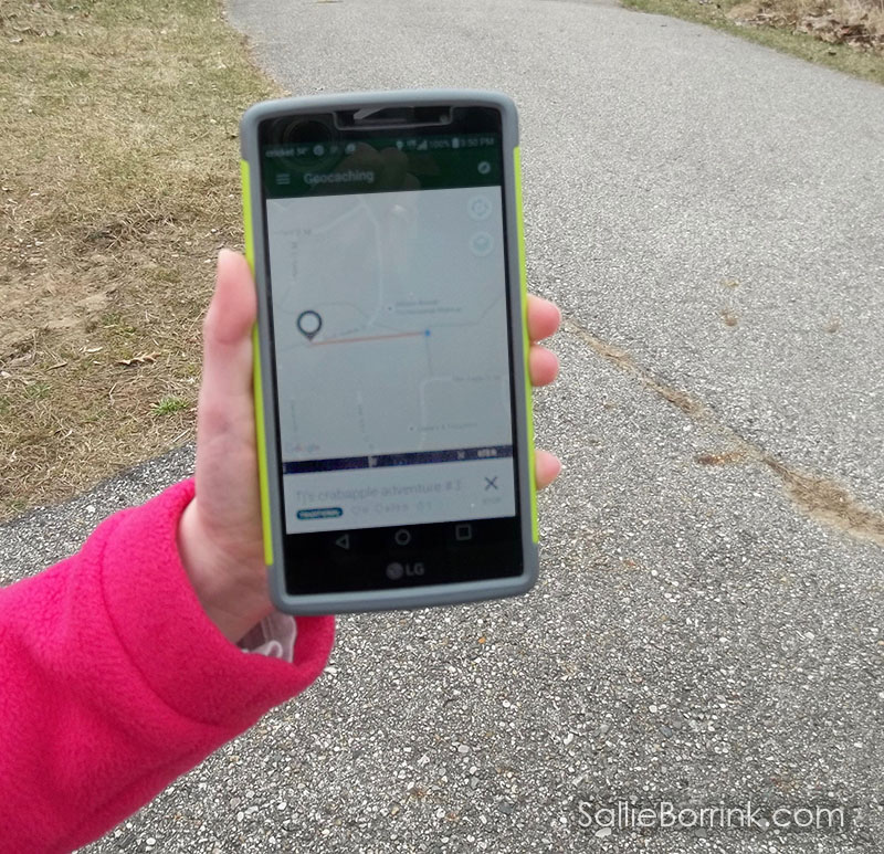 geocaching smart phone app