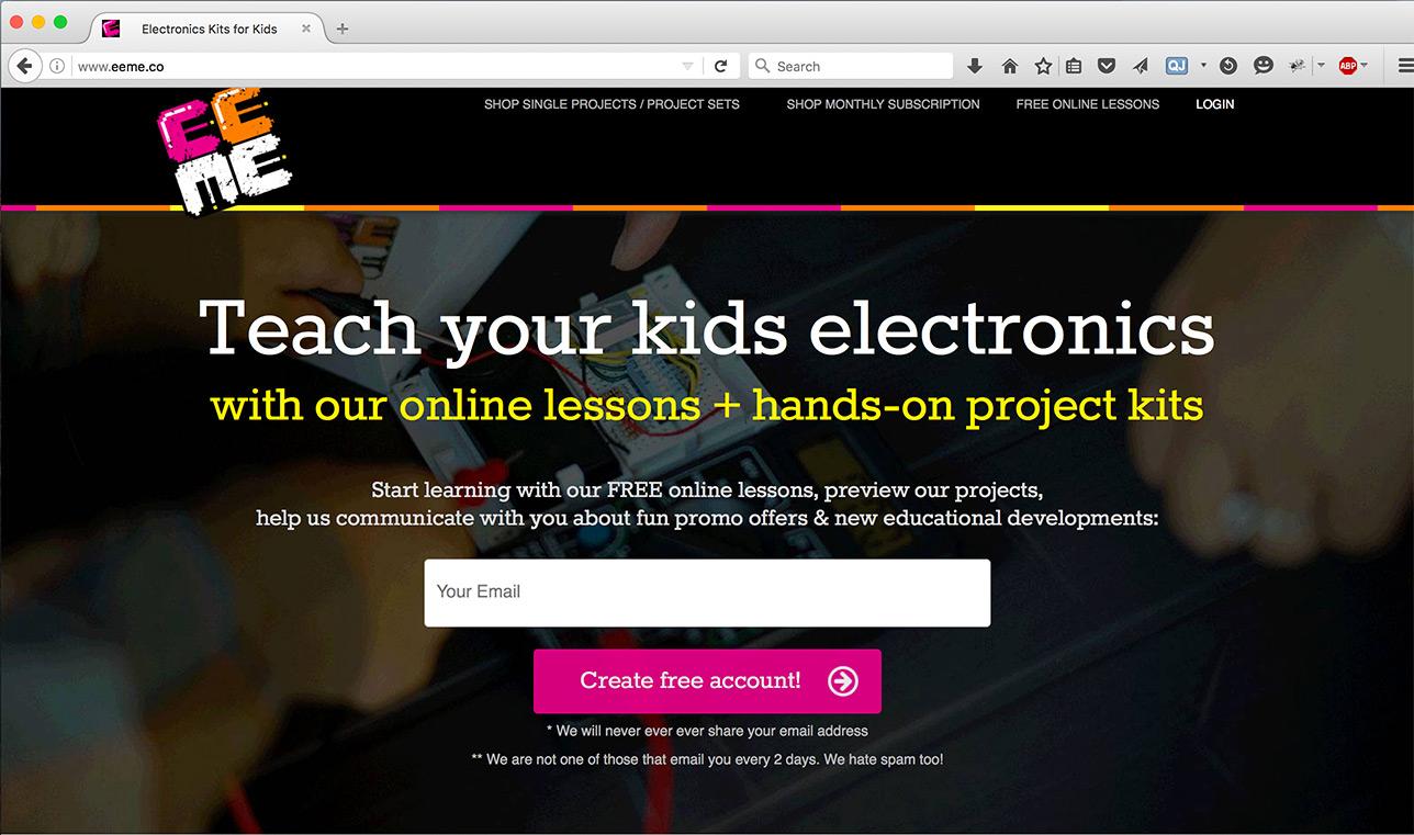 EEME Web Site