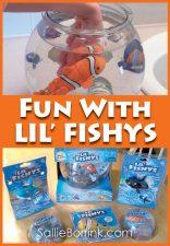 Fun with Lil' Fishys Fish Toys