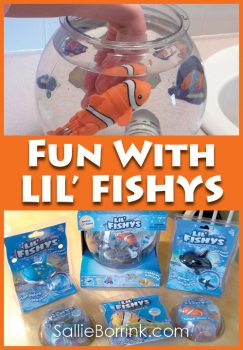 Fun with Lil' Fishys Fish Toys