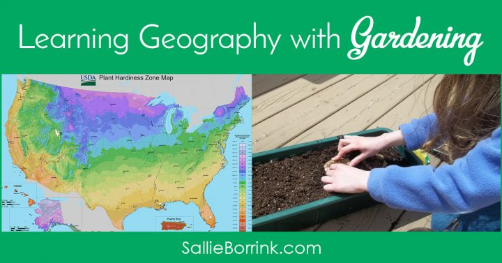 Learning Geography with Gardening 2