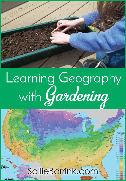 Learning Geography with Gardening