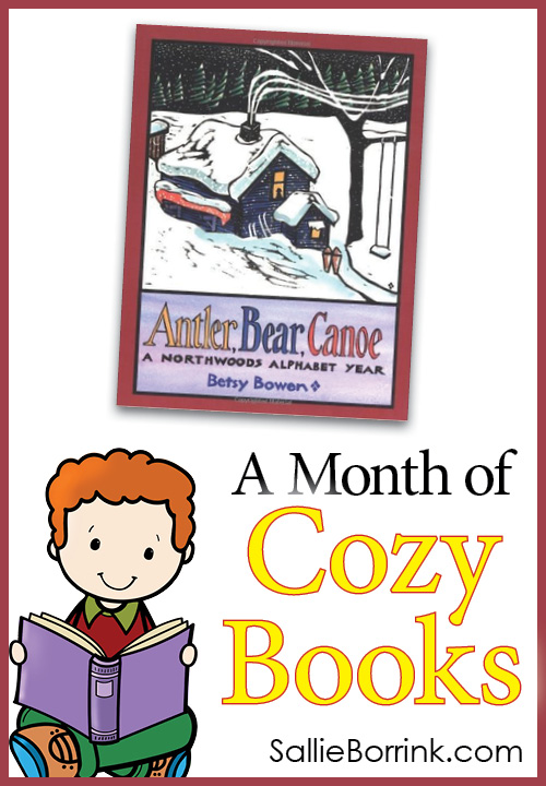Antler Bear Canoe - A Month of Cozy Books