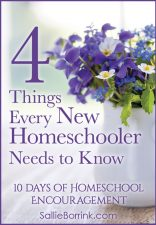 4 Things Every New Homeschooler Needs to Know