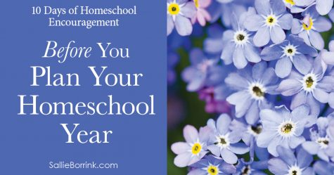 Before You Plan Your Homeschool Year 2