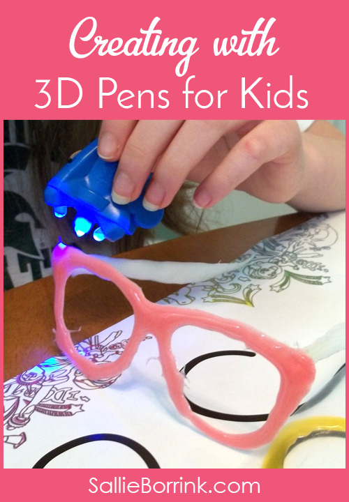 Creating with 3D Pens for Kids2