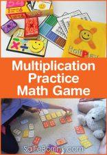Multiplication Practice Math Game