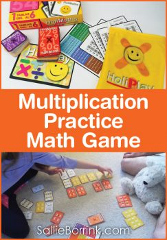 Multiplication Practice Math Game
