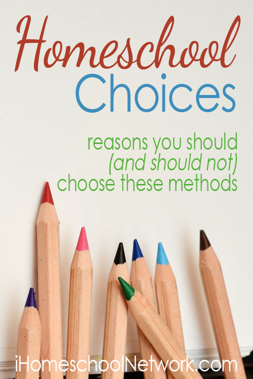 Homeschooling Choices