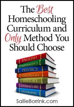 The Best Homeschooling Curriculum and Only Method You Should Choose
