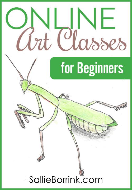 Online Art Classes for Beginners - SallieBorrink.com