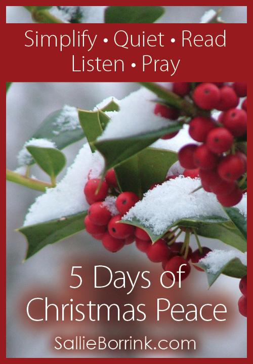 5 Days of Christmas Peace - A Christmas Series