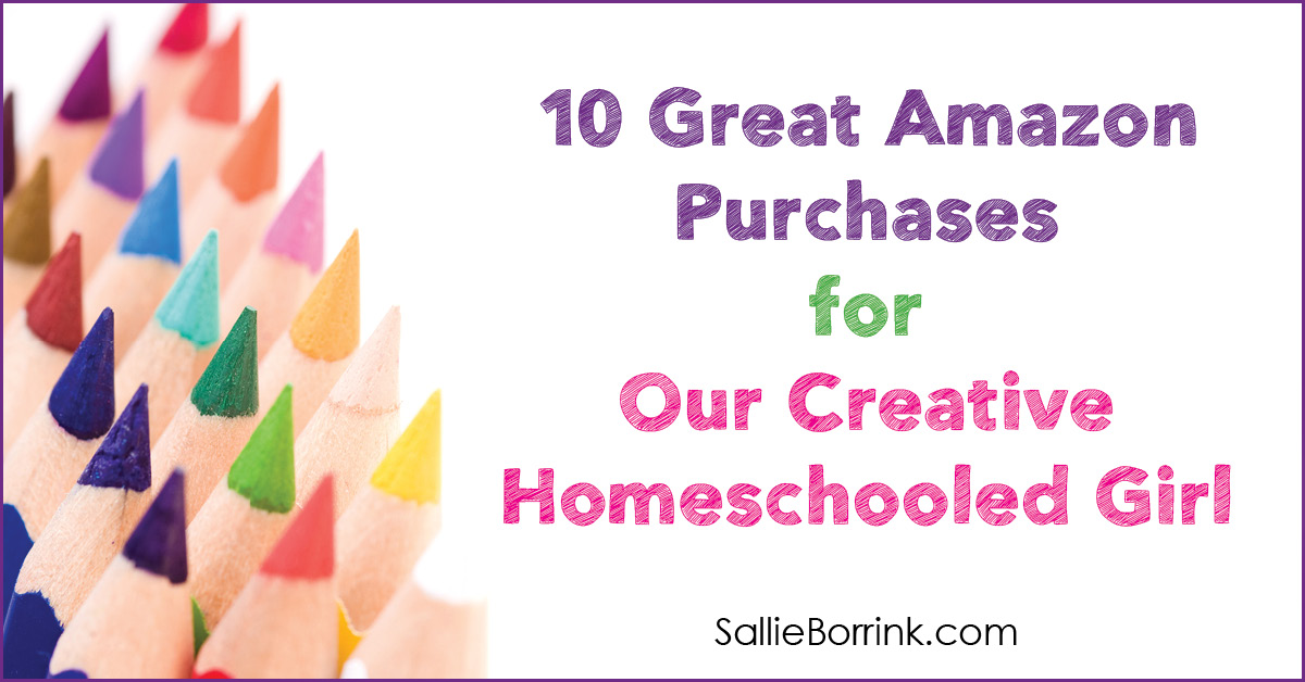 10 Great Amazon Purchases for Our Creative Homeschooled Girl 2