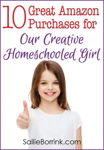 10 Great Amazon Purchases for Our Creative Homeschooled Girl