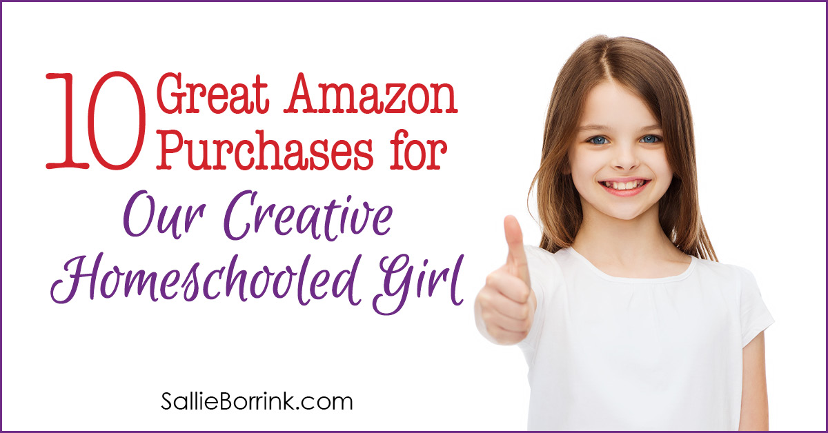 10 Great Amazon Purchases for Our Creative Homeschooled Girl - SallieBorrink.com