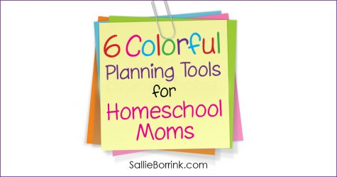 6 Colorful Planning Tools for Homeschool Moms 2