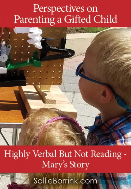 Highly Verbal But Not Reading In a Twice-Exceptional Child