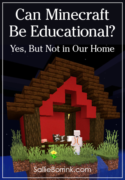 Can Minecraft Be Educational Yes, But Not in Our Home
