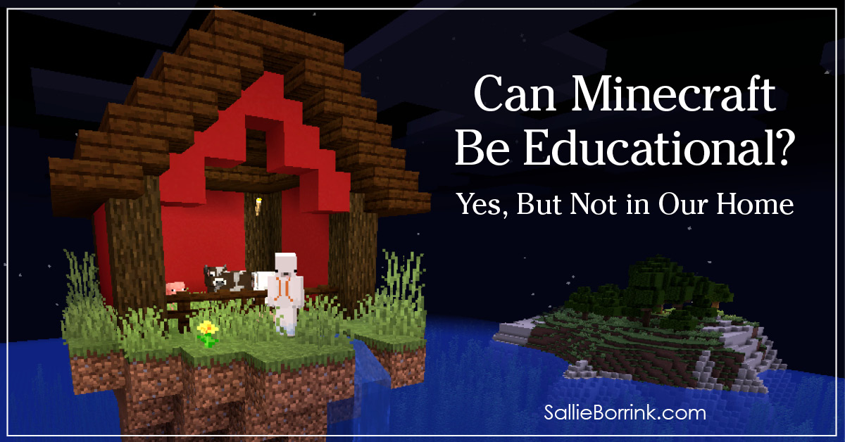 Can Minecraft Be Educational Yes, But Not in Our Home 2