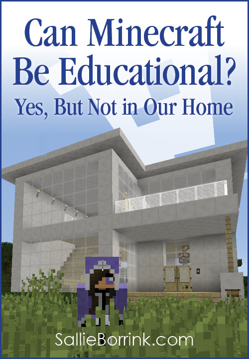 Can Minecraft Be Educational Yes, But Not in Our Home