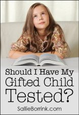Should I Have My Gifted Child Tested?