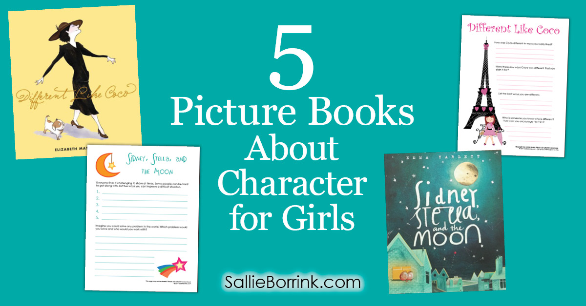 5 Picture Books About Character for Girls 2