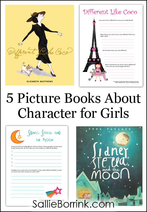 5 Picture Books About Character for Girls