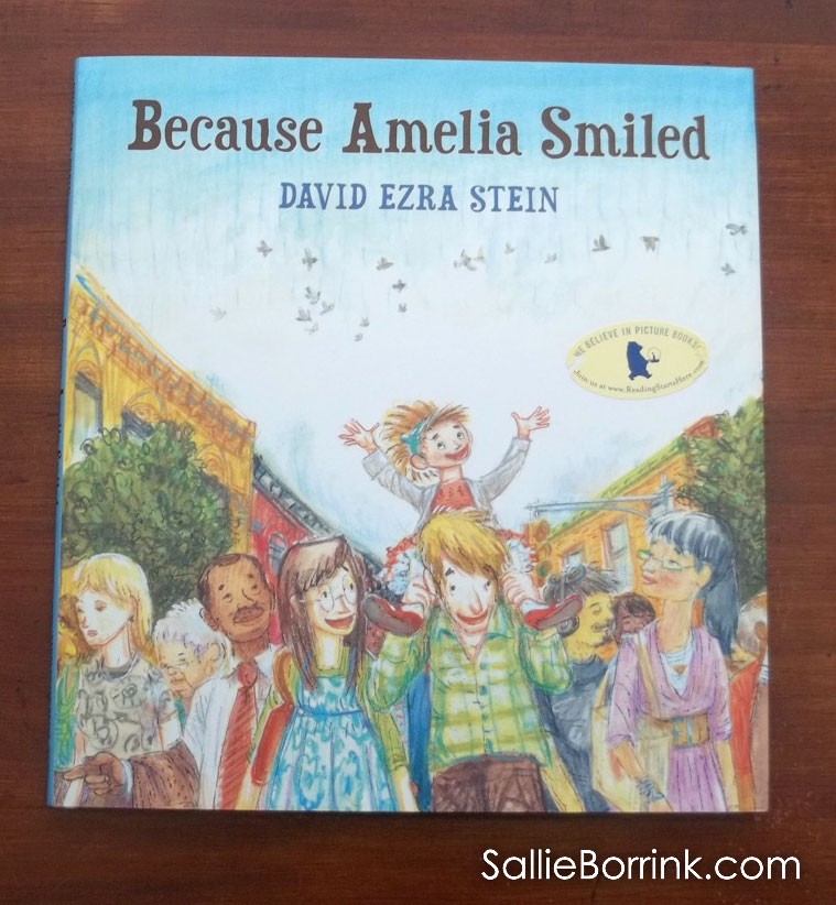 Because Amelia Smiled cover