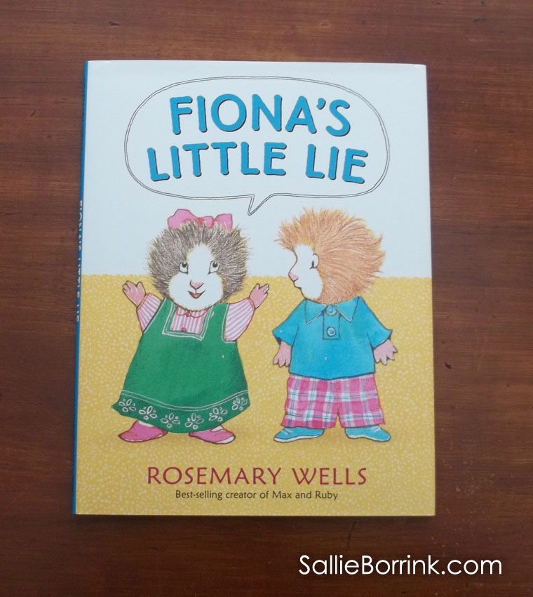 Fiona's Little Lie cover