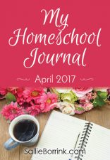 My Homeschool Journal – April 2017