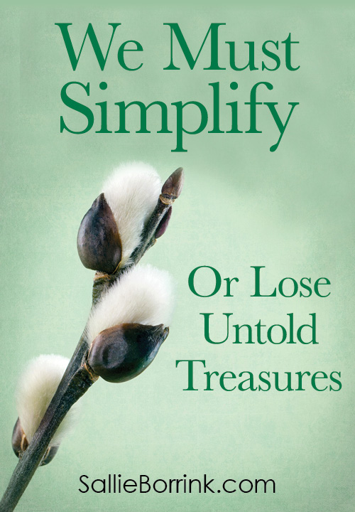 We Must Simplify or Lose Untold Treasures