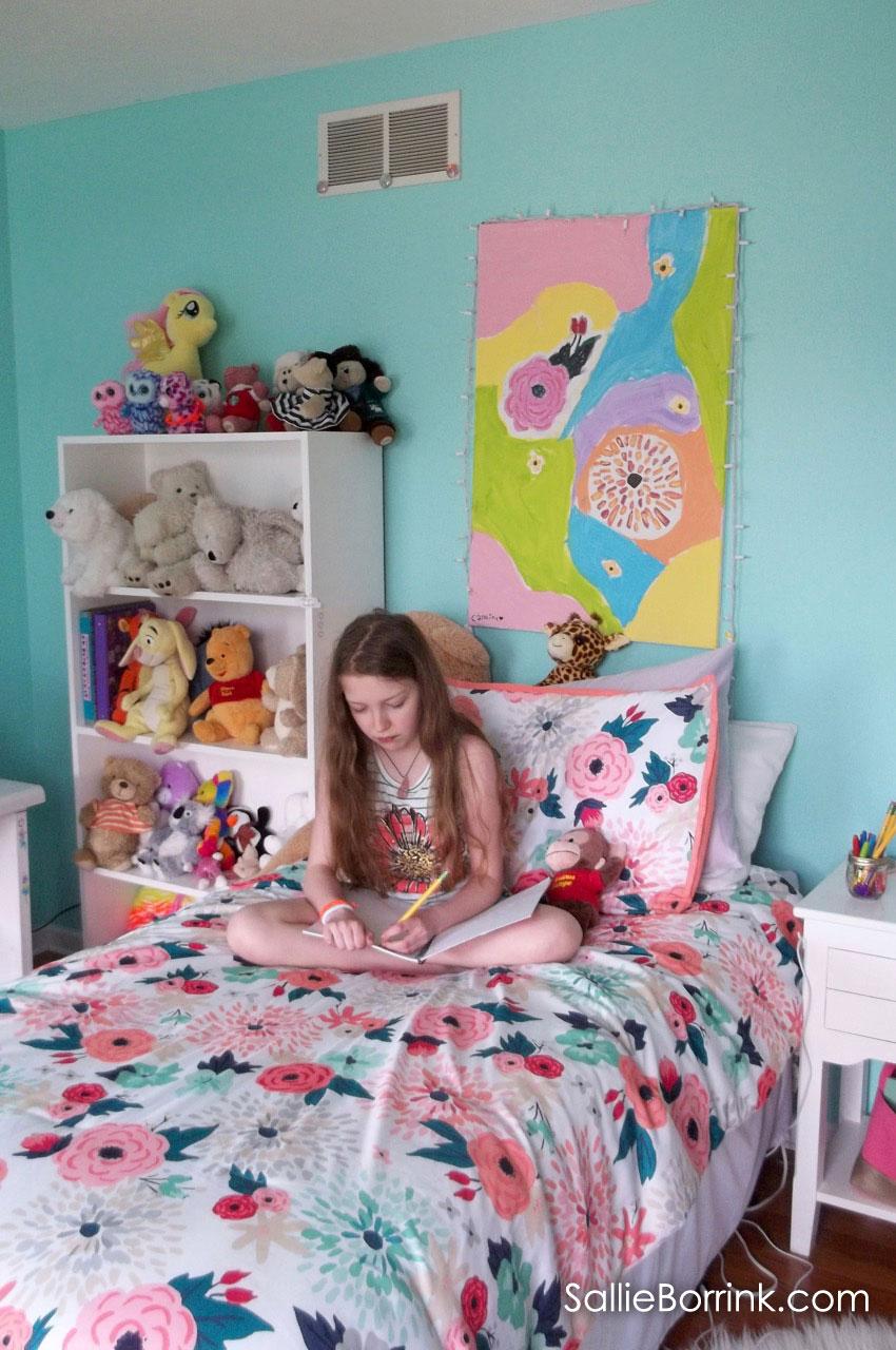 Tween Girl Floral Bedspread