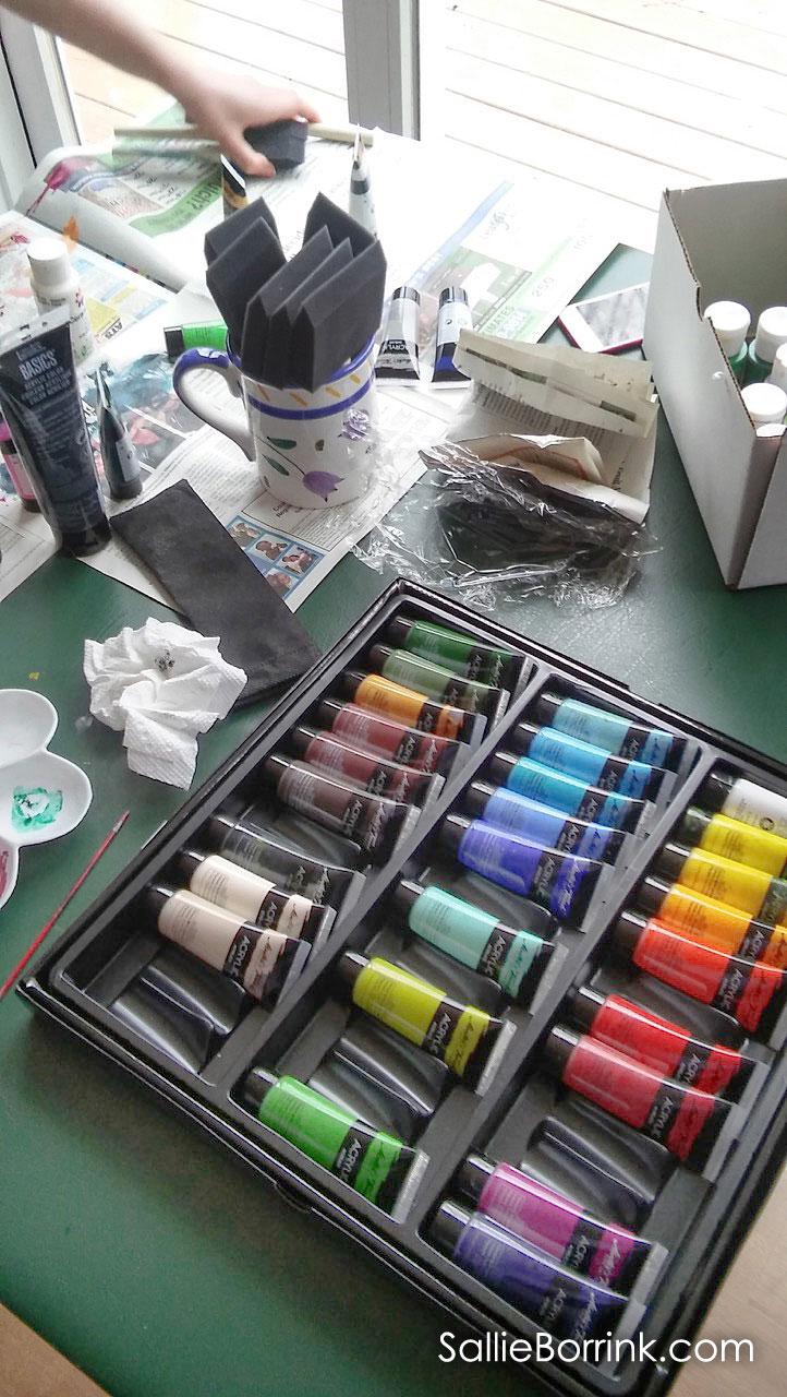 Using Acrylic Paints