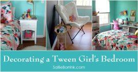 Decorating a Tween Girl's Bedroom 2