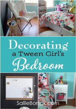 Decorating a Tween Girl's Bedroom