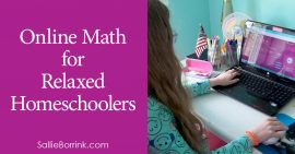 Online Math for Relaxed Homeschoolers 2