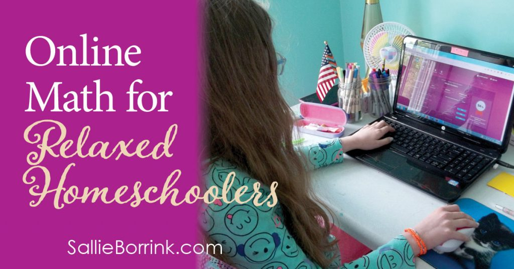 Online Math for Relaxed Homeschoolers - SallieBorrink.com