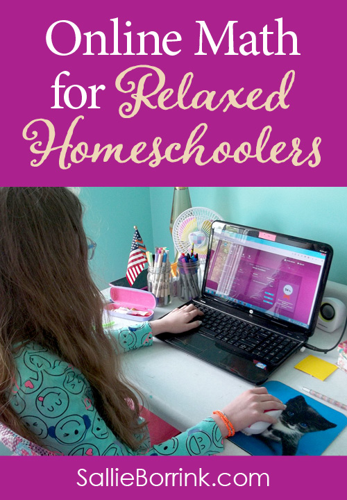 Online Math for Relaxed Homeschoolers